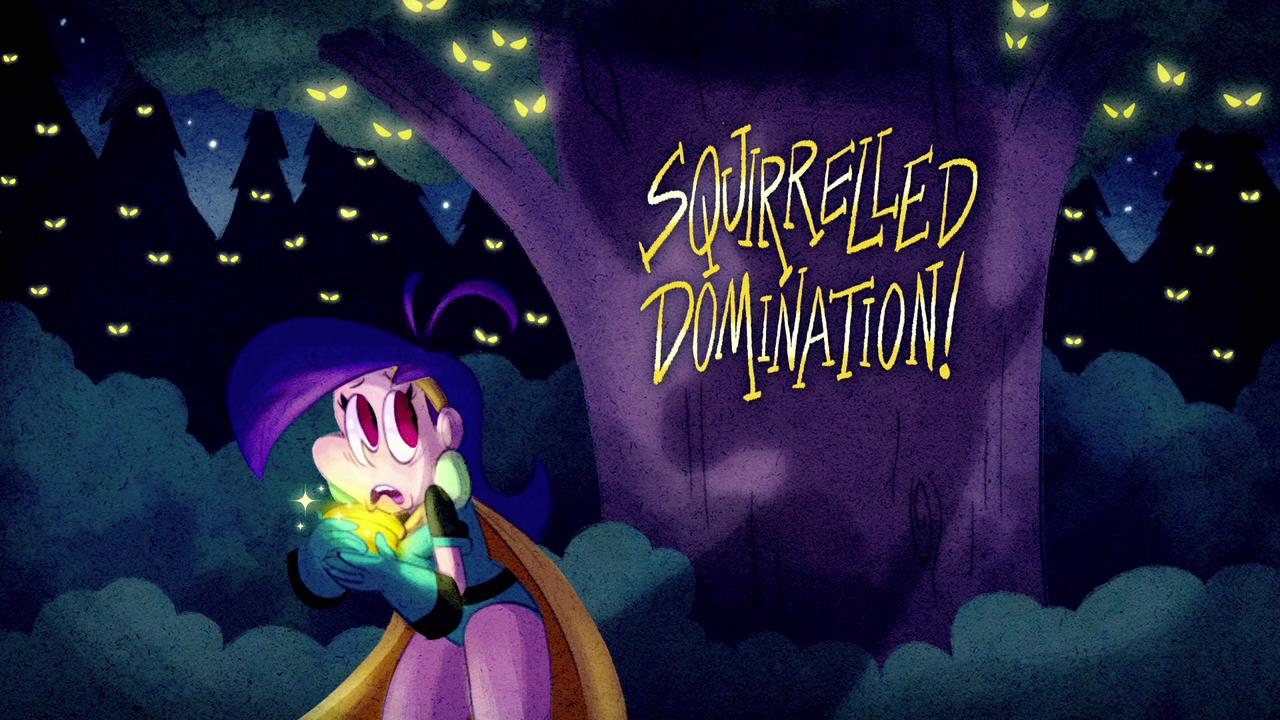 Poderosas Magiespadas - Dominando o Medo de Esquilos