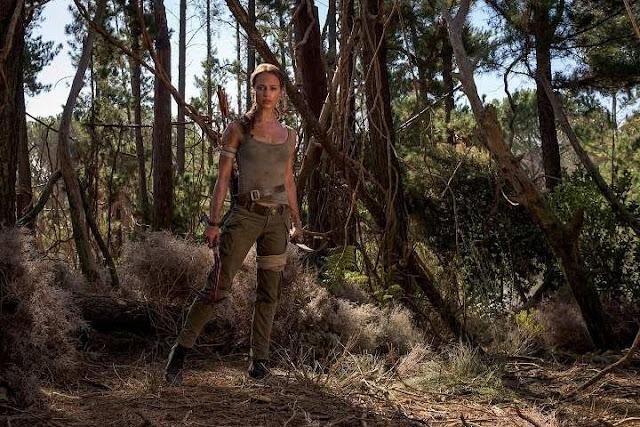 Alicia Vikander en el nuevo reboot de Tomb Raider
