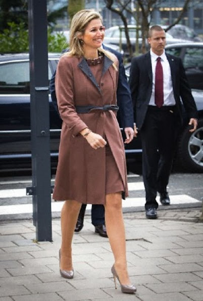 Dutch Princess Máxima in Leiden for A world without cervical cancer