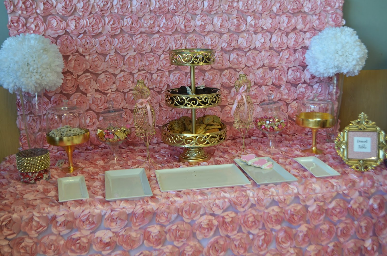 Popular for all things creative!: My Pink & Gold Baby Shower! WF94