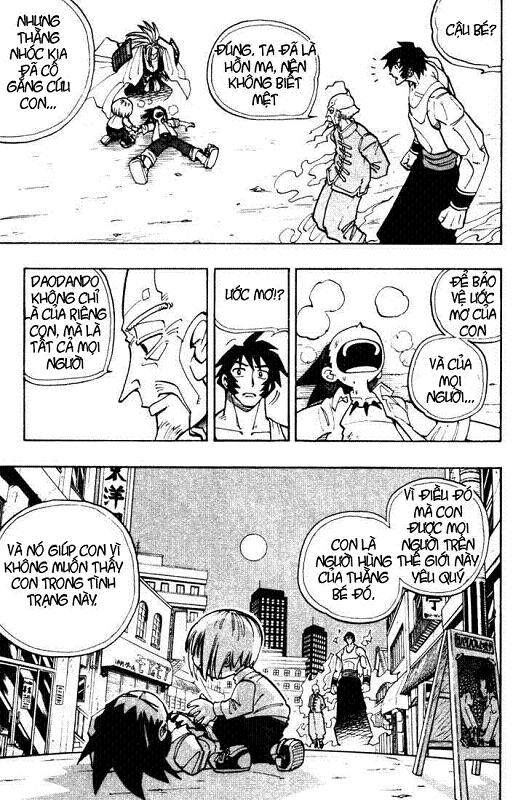 Shaman King [Vua pháp thuật] chap 17 trang 16