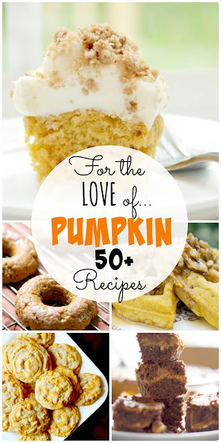 50+ pumpkin dessert recipes (sweetandsavoryfood.com)