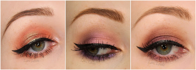 Notoriously Morbid Eyeshadows - Gender, Visions, Tessie and Spring-heeled Jack Swatches & Review