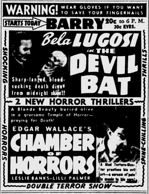 29 January 1941 worldwartwo.filminspector.com Bela Lugosi Devil Bat