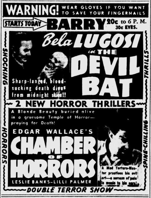 29 January 1941 worldwartwo.filminspector.com Bela Lugosi Devil Bat