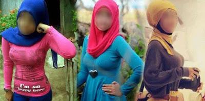 Apalah Guna Jilbabmu, Jika Dadamu Kau Tonjolkan