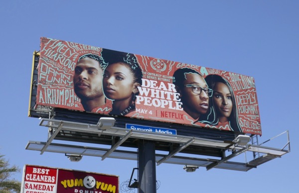 Dear White People season 2 billboard