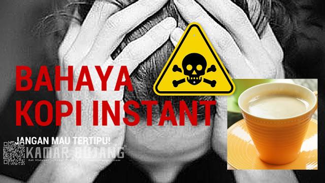 Bahaya Kopi Instan Bagi Kesehatan