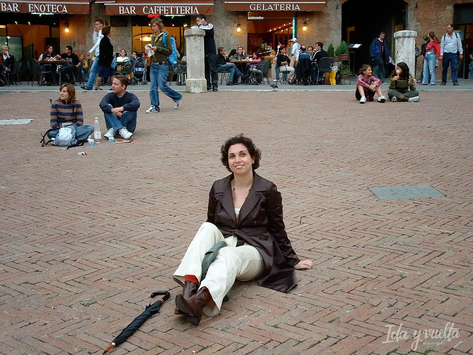 En la Piazza del Campo