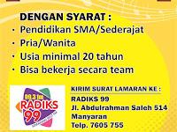 Lowongan Kerja Penyiar Radio Radiks Semarang