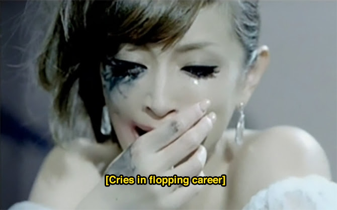 Ayumi Hamasaki [cries in flopping career] | Random J Pop