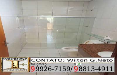 Banheiro-suite-Casa, venda, Maceió-AL,Conj. Res. Jardim Petrópolis 1