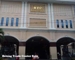 Tempat belanja batik di BTC