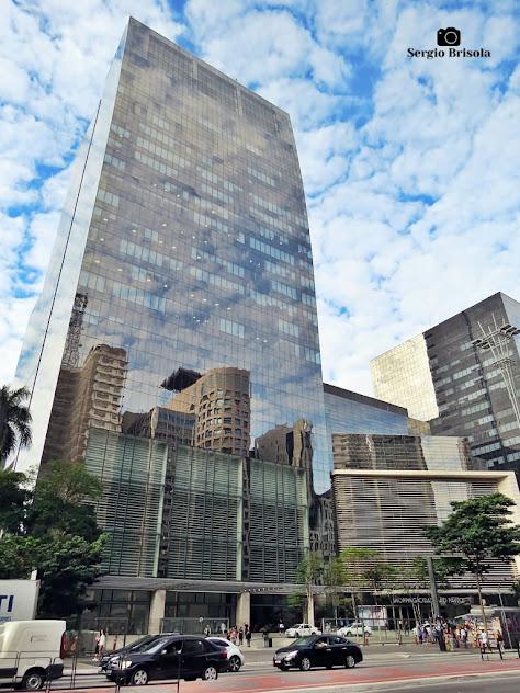Vista ampla da Torre Matarazzo e Shopping Cidade São Paulo - Bela Vista - São Paulo