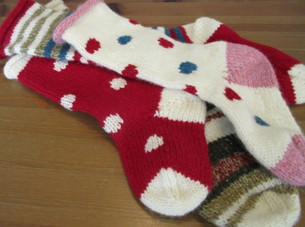 xmas Stockings - Our Handmade Home