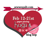 Paper Piecing Hugs & Kisses