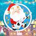 Santa Claus Playing Guitar