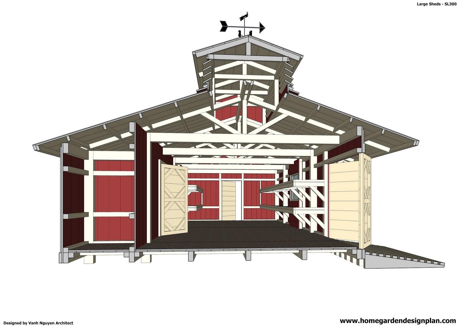 Home Garden Plans: SL300