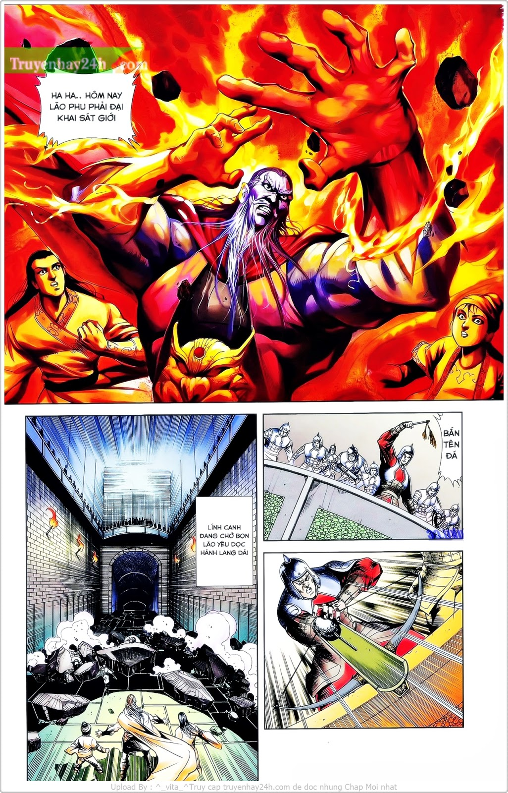Tần Vương Doanh Chính chapter 25 trang 22