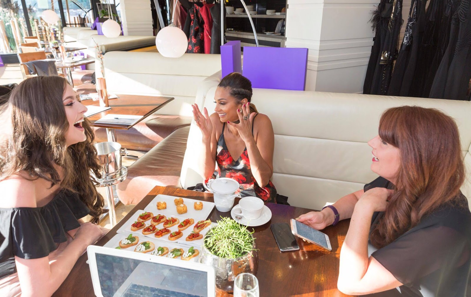 Interviewing Alesha Dixon about her little black dress collection