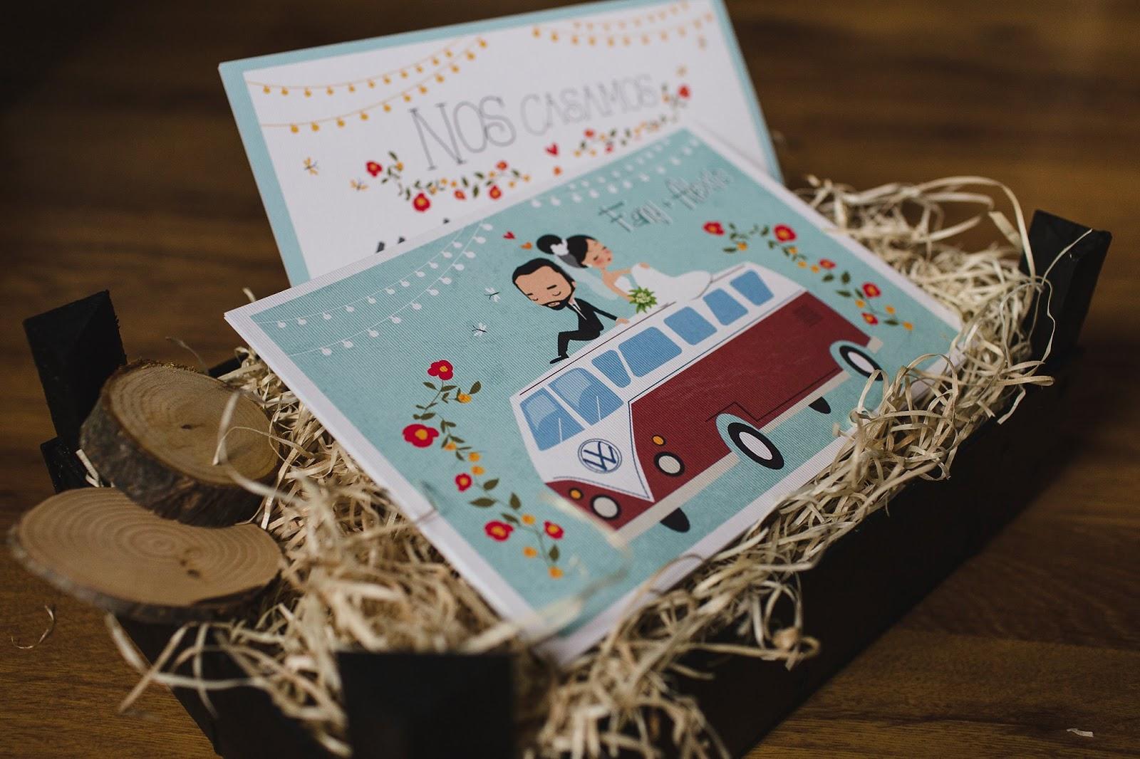 Invitaciones de boda originales ilustradas blog de bodas for Novias originales 2017