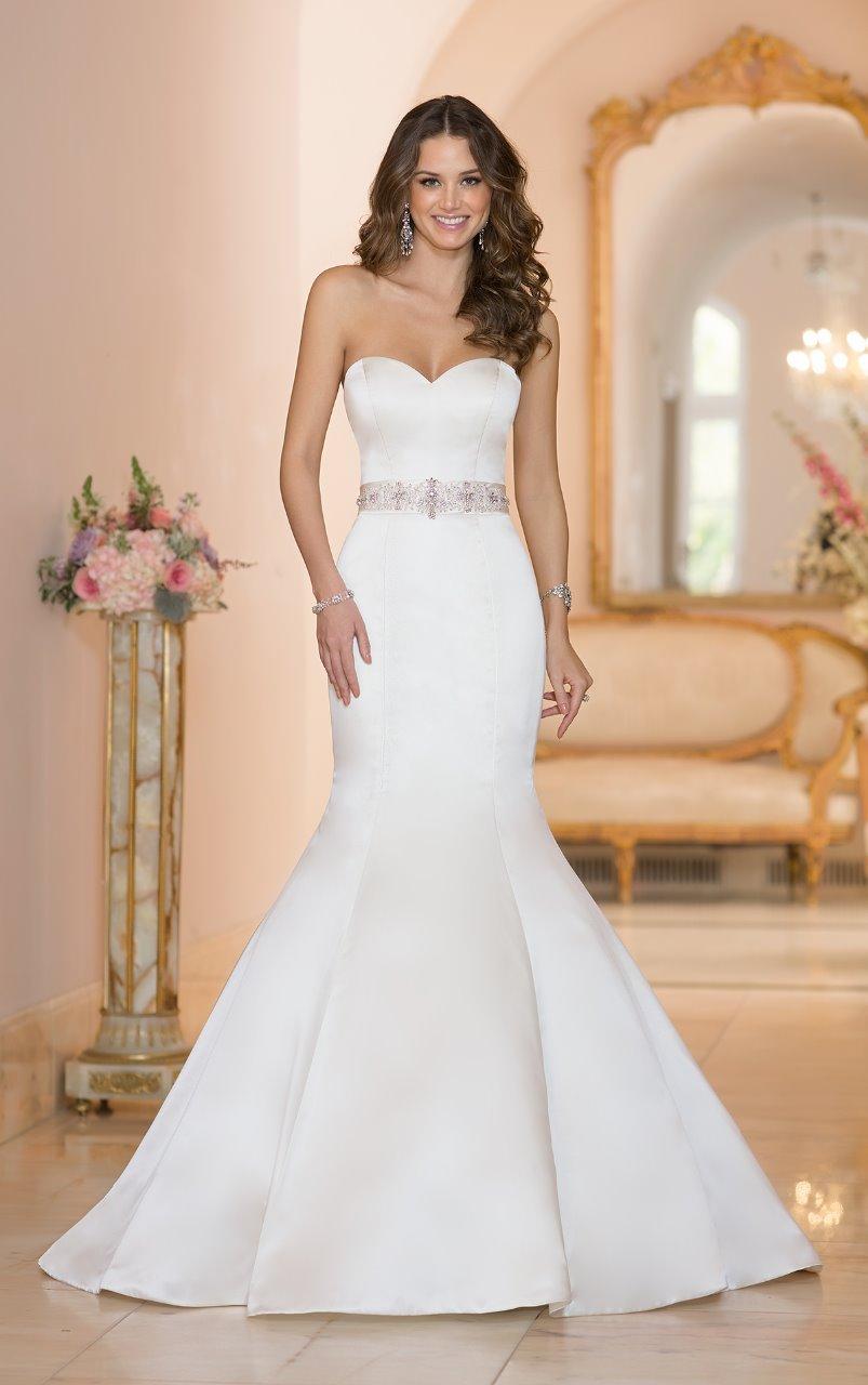 Vestidos de novia corte a 2019