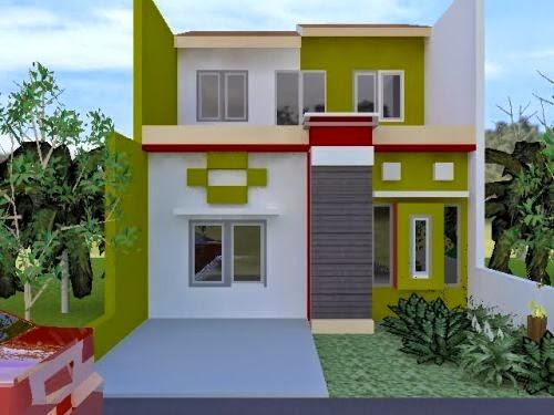 Warna Kombinasi Cat Rumah Minimalis Modern Terbaru 2017