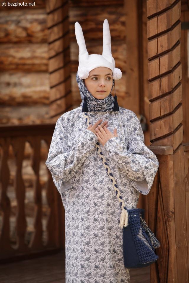 русский стиль современной моде