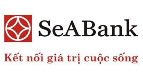 Logo ngân hàng SEABANK vector