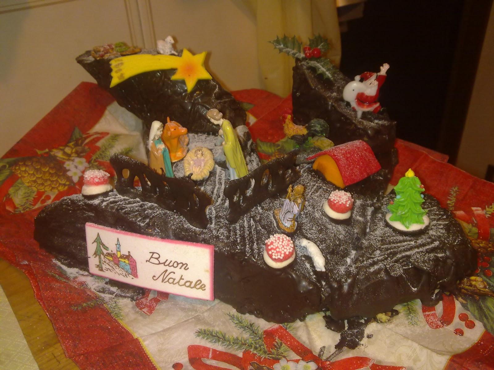 Torta Tronchetto Di Natale.Dolce E Un Po Salato Tronchetto Di Natale