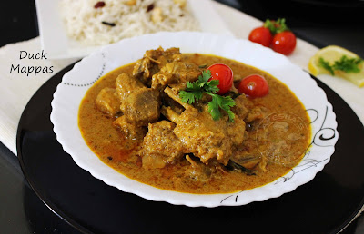 duck tharavu curry recipe is very famous kerala Indian curry from Alappuzha or kuttanadu tasty spicy duck roast in coconut milk duck mappas ayeshas kitchen recipes  non veg food