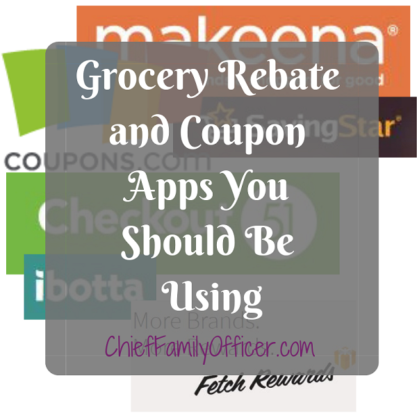 Grocery Rebate and Coupon Apps You Should Be Using