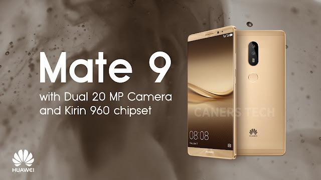هواوي تعلن رسمياً عن هاتفها الذكي الجديد  Mate 9 شاهد المواصفات والأسعار