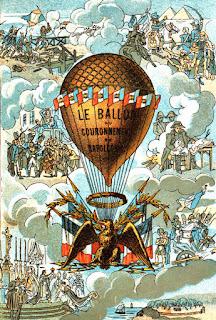 Il pallone aerostatico