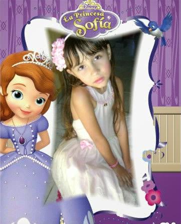 Montagem de fotos com molduras v rios temas princesa sofia - Foto princesa sofia ...