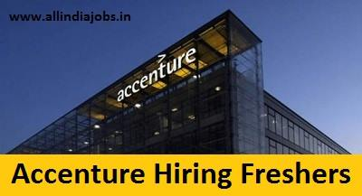 Accenture Recruitment 2018-2019 Job Openings For Freshers