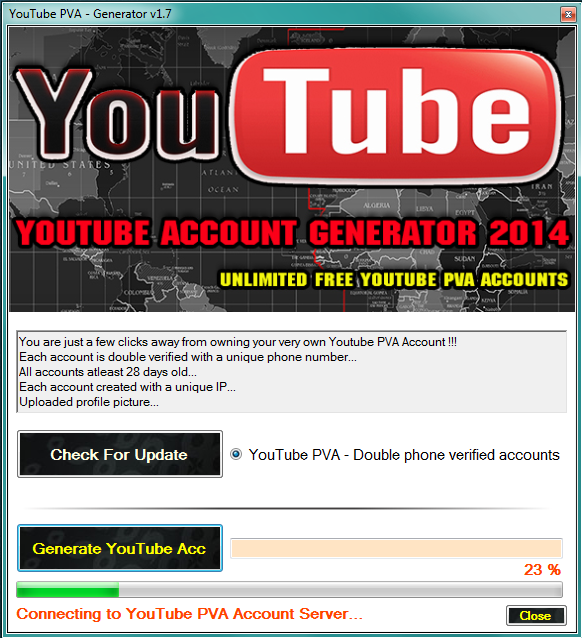 PVA YouTube Creator