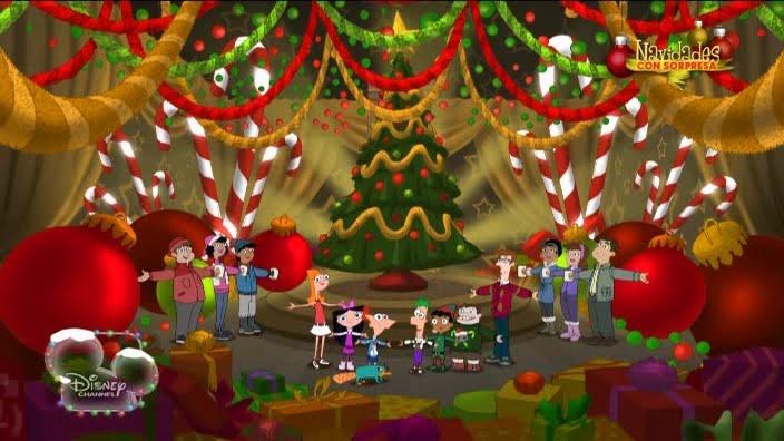 Phineas y Ferb el Blog 3x17-Una Navidad Familiar con Phineas y Ferb