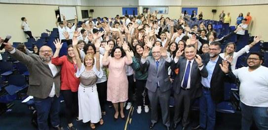 8d60ae49fadd2 Colégio 7 de Setembro inicia as atividades do Eleitor do Futuro