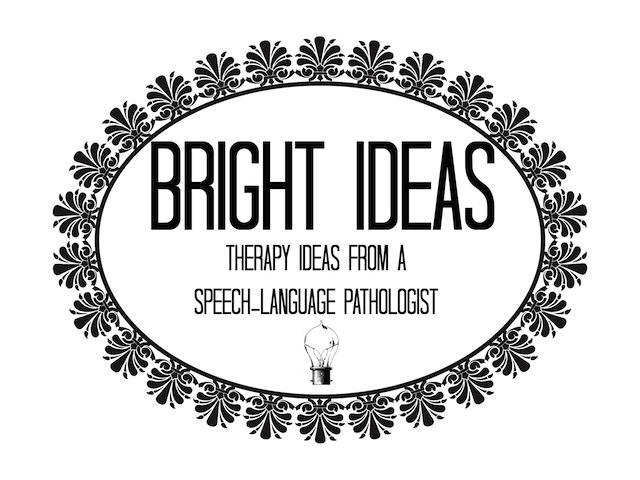 Bright Ideas: Speech-Language Pathology