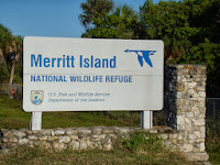 Entrando al Merritt Island WMA