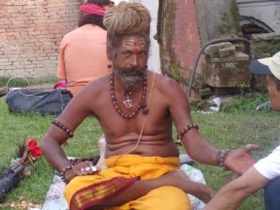 sadhu Pashupatinath
