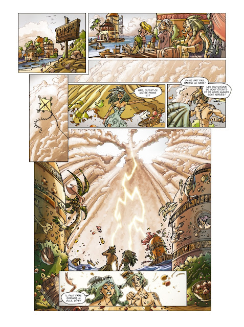 """Lock Tome 5 """"Langorytes"""" éditions Paquet page 9"""