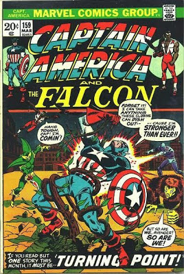 Captain America and the Falcon #159