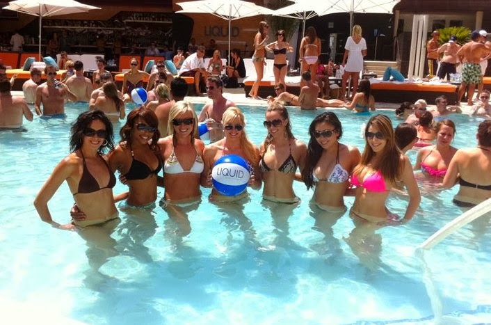 Liquid Pool Party em Las Vegas