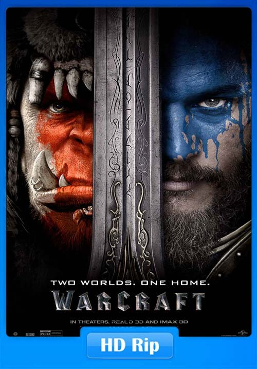 Warcraft 2016 BluRay 720p Dual.Audio Hindi x264 | 480p 300MB | 100MB HEVC