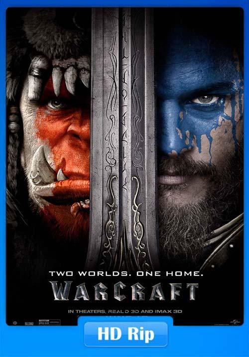 Warcraft 2016 BluRay 720p Dual.Audio Hindi x264 | 480p 300MB | 100MB HEVC