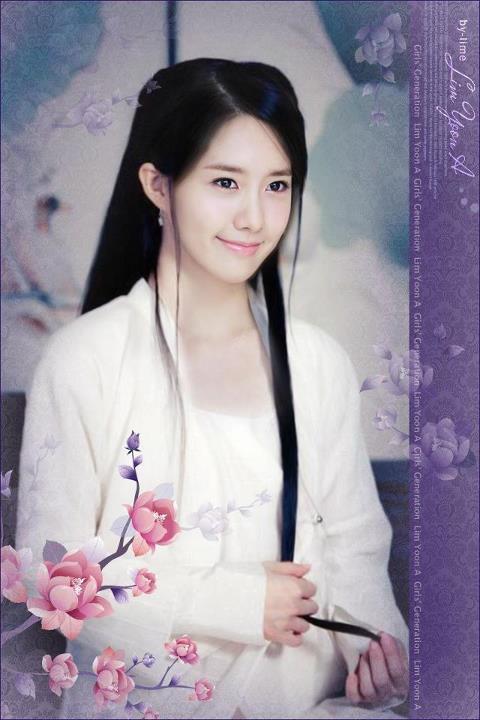 Seohyun Cute Wallpaper Love Snsd Yeongwonhi Fanart Yoona S Lovely Chinese Look