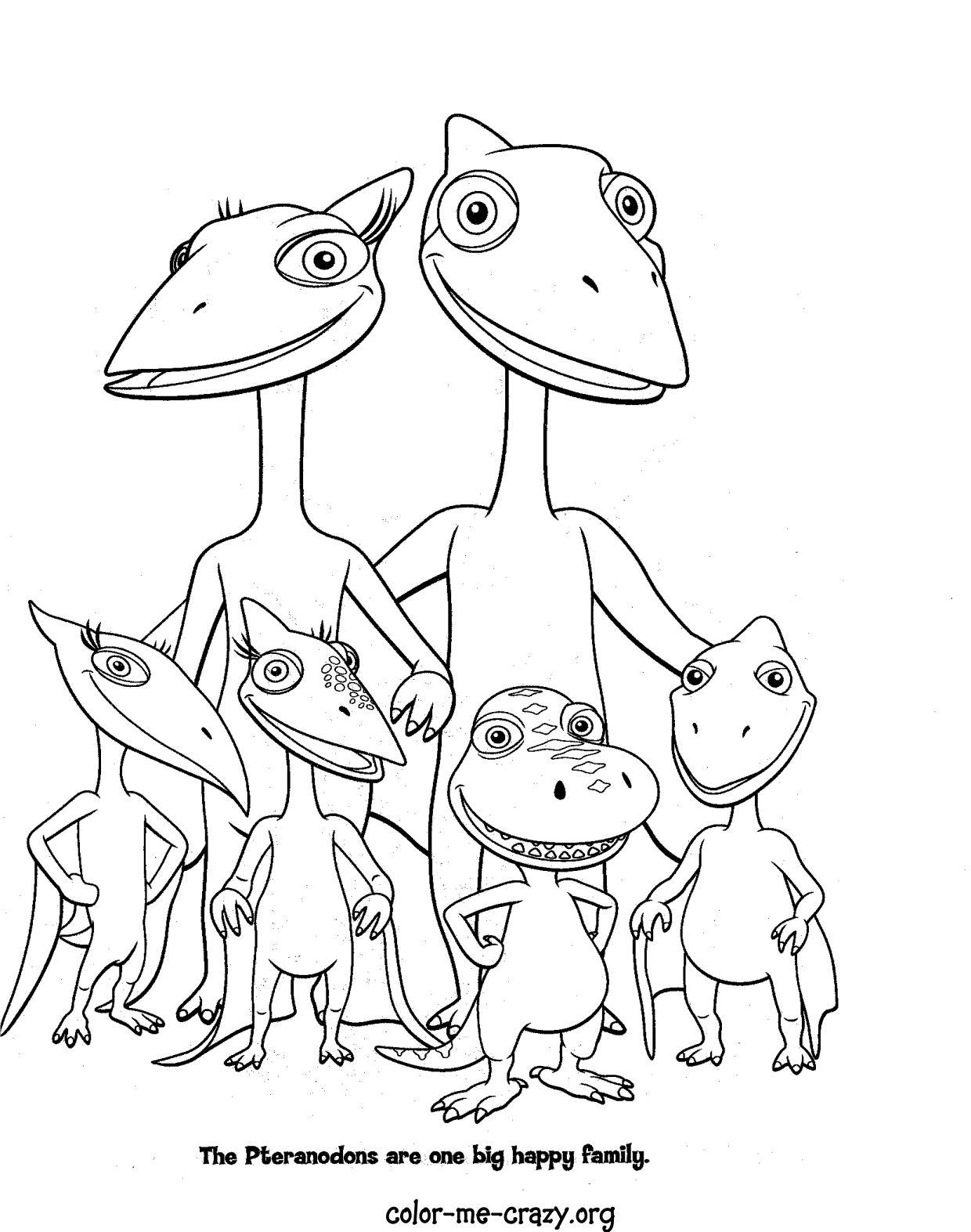 Colormecrazy Dinosaur Train Coloring Pages