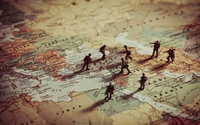 Ανατολική Μεσόγειος: Άρης και Ποσειδών κατά Αθηνάς και Αφροδίτης